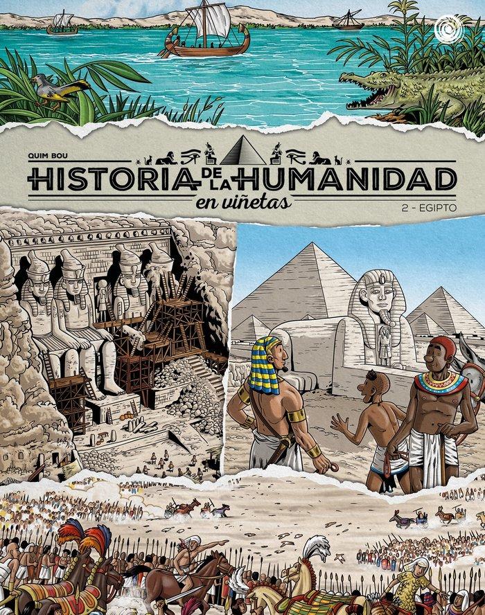 Historia de la humanidad en viñetas 2 egipto