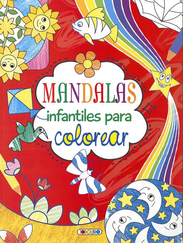 Mandalas infantiles para colorear 2