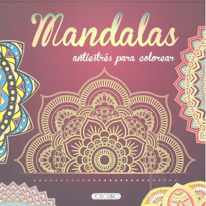 Mandalas antiestres para colorear 1