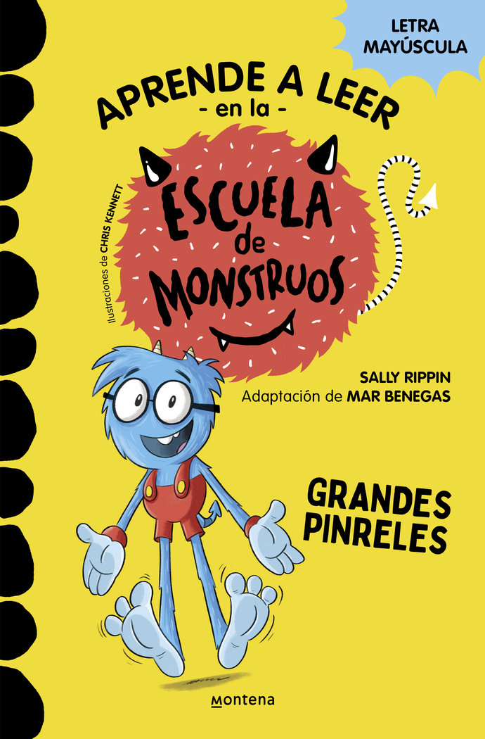 Aprender a leer en la escuela de monstruos 4 grandes pinrele