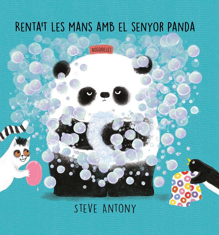 Rentat les mans amb el senyor panda