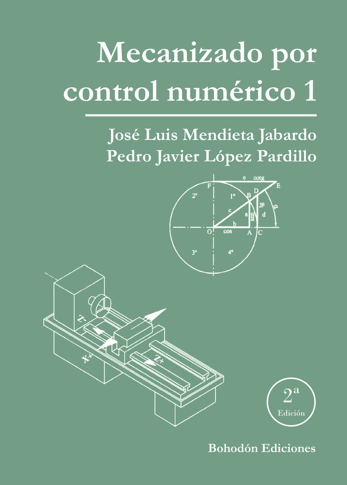 Mecanizado por control numerico 1 2ª ed