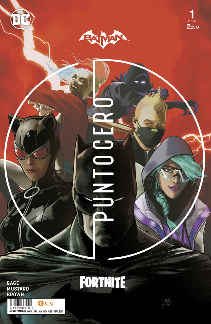 Batman fortnite punto cero 1