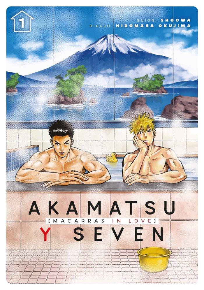 Akamatsu y seven macarras in love vol 1