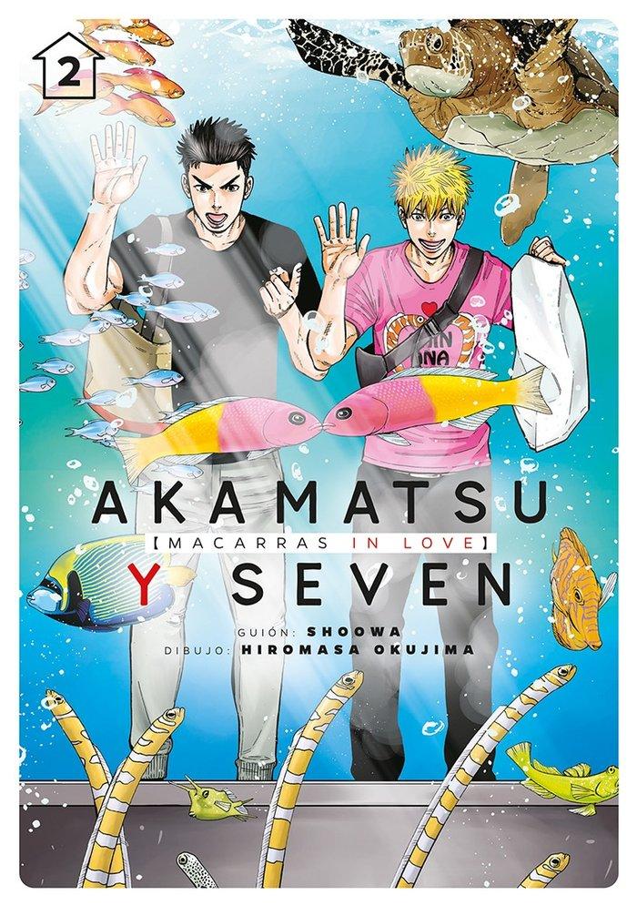 Akamatsu y seven macarras in love vol 2