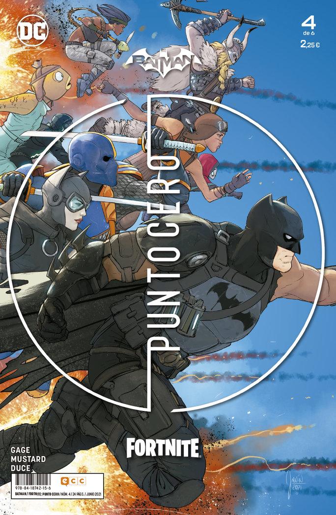 Batman fortnite punto cero 4