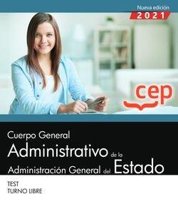 Cuerpo general administrativo administracion estado test tu
