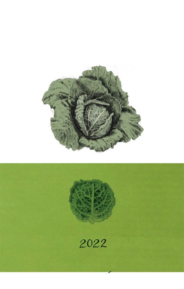 Calendario de las verduras 2022