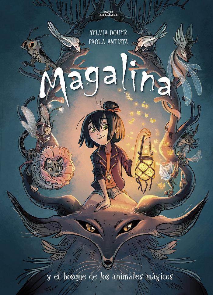 Magalina y el bosque de los animales magicos