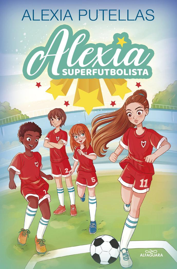 Alexia y las promesas del futbol