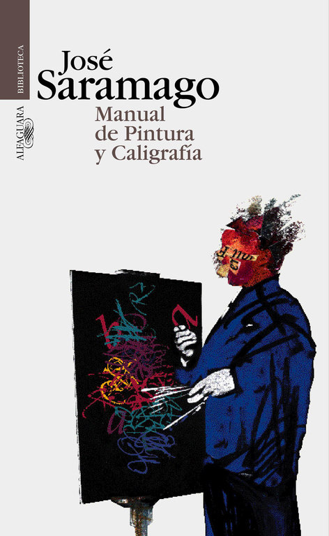 Manual pintura y caligrafia alf