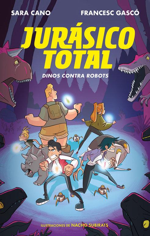 Dinos contra robots (serie jurasico total 2)