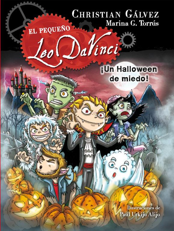 Pequeño leo davinci 7 un halloween de miedo