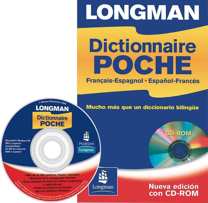 Longman dictionnaire poche+cd español-frances