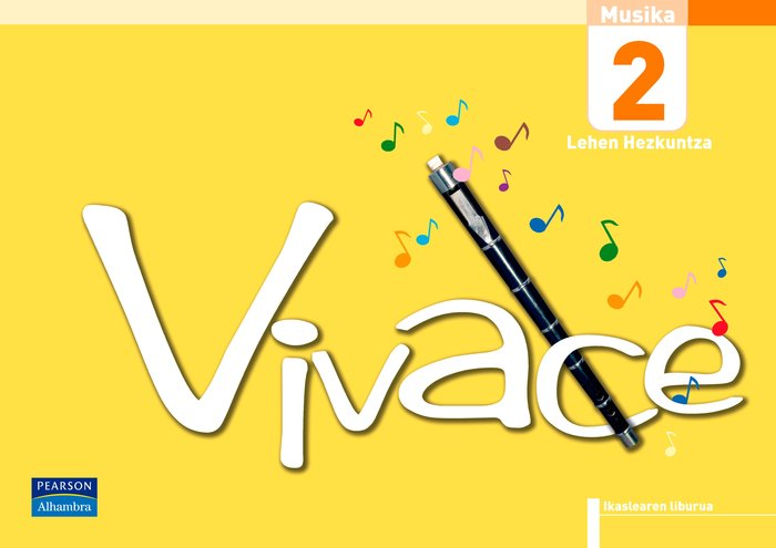 Vivace 2 ikaslearen liburua