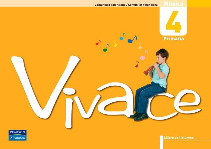 Vivace 4 llibre de l'alumne (comunitat valenciana)