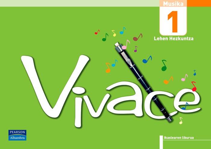 Vivace 1 ikaslearen liburua