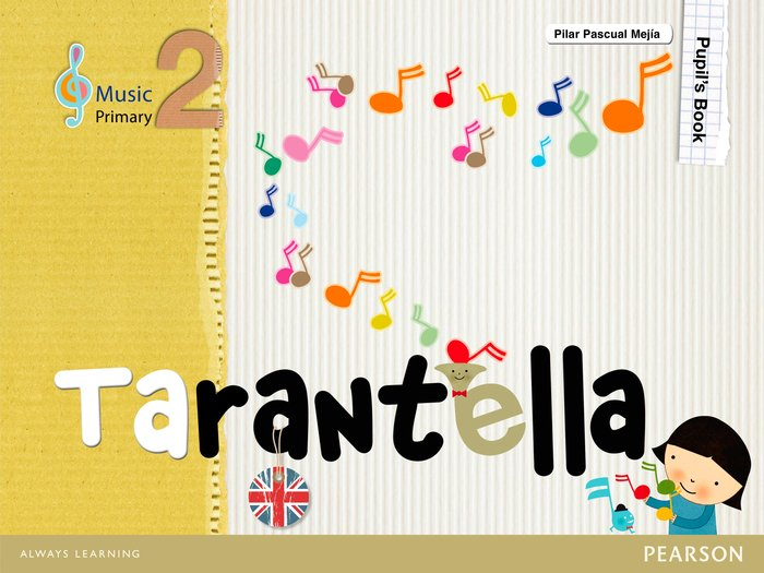 Tarantella 2ºep cuaderno bilinguismo 11 pack
