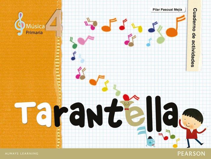 Tarantella 4ºep cuaderno 12 pack