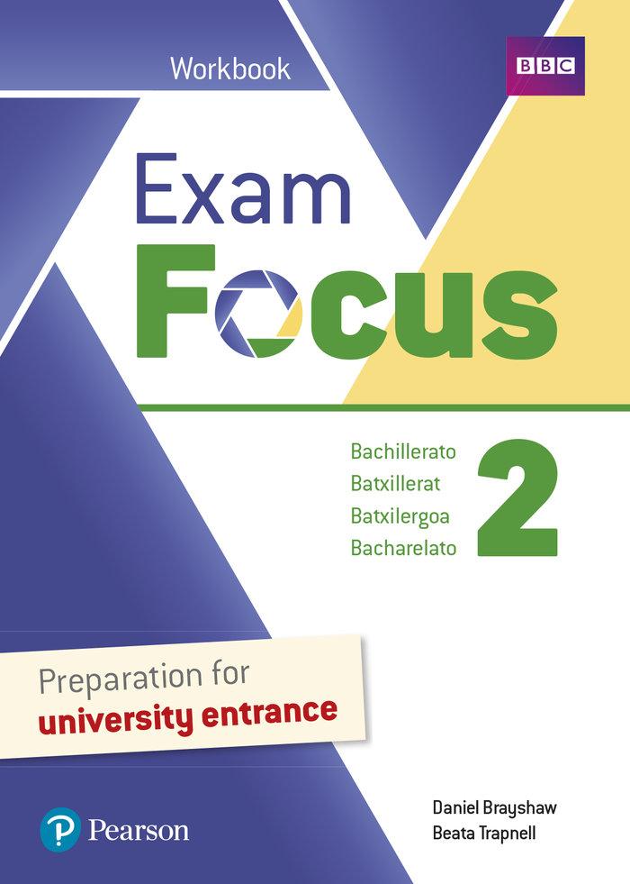 Exam focus 2 wb print & digital interactive