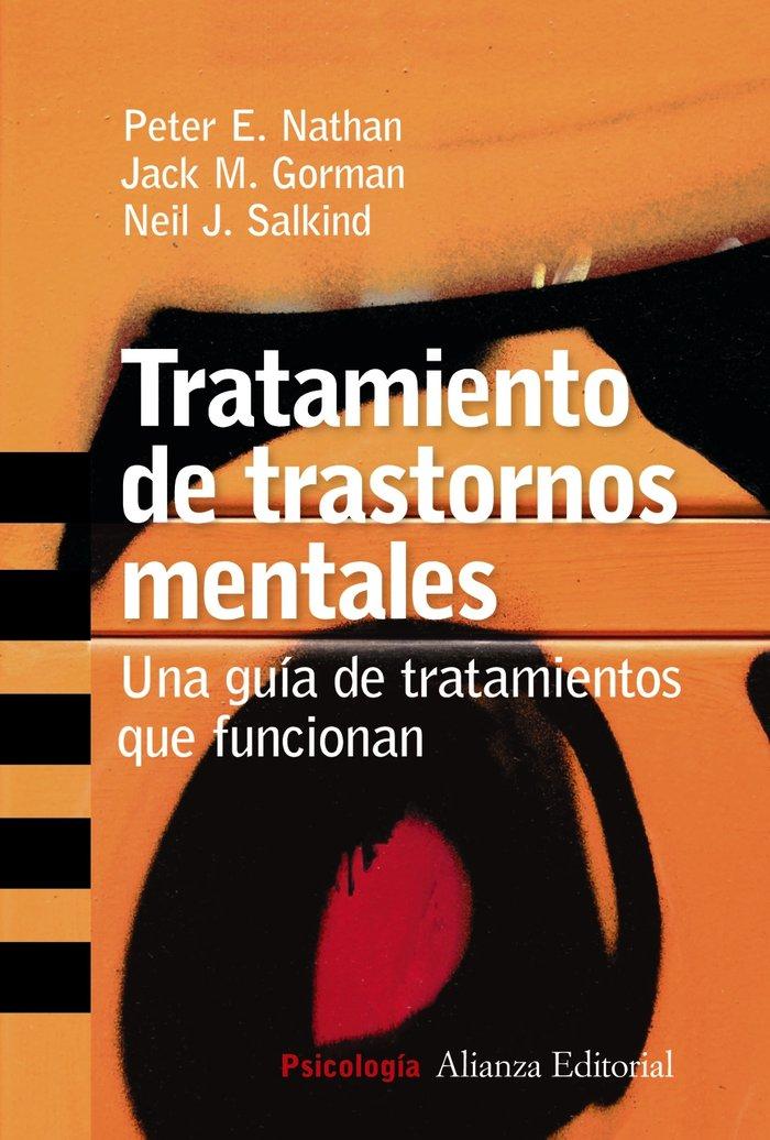 Tratamiento trastornos mentales