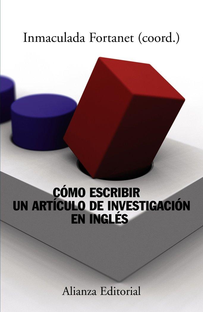 Como escribir articulo de investigacion en ingles