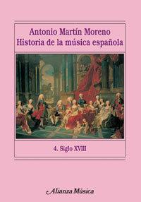 Historia de la musica española 4 siglo xviii