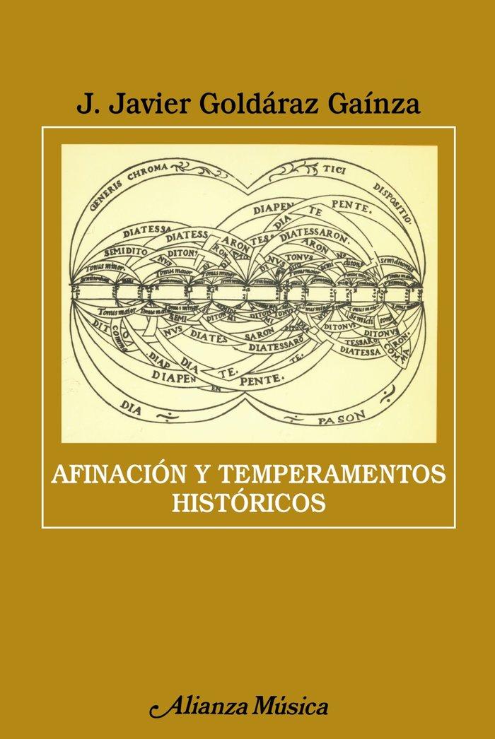 Afinacion y temperamentos historicos