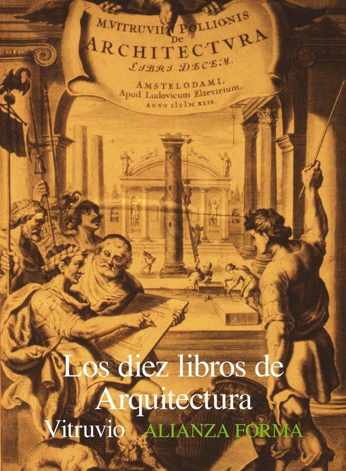 Diez libros arquitectura alianza