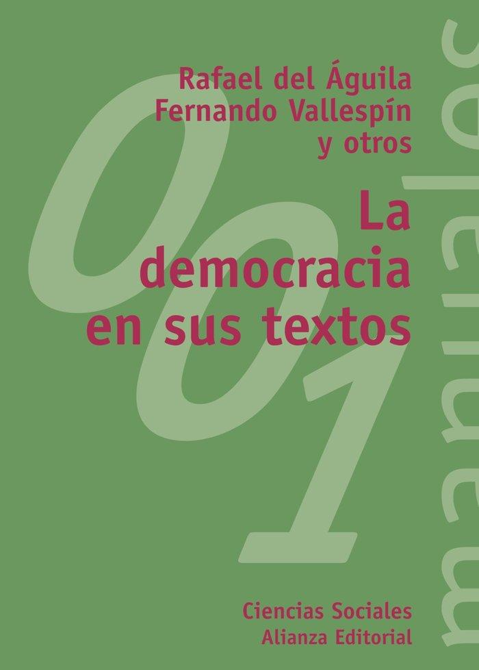 Democracia en sus textos,la
