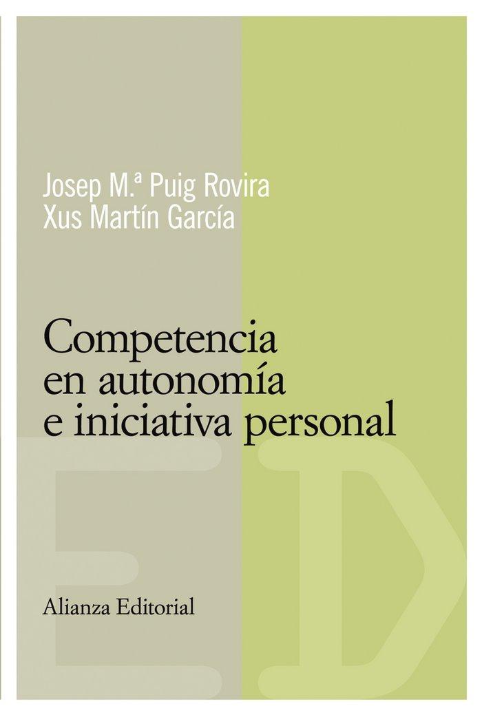 Competencia en autonomia e iniciativa personal