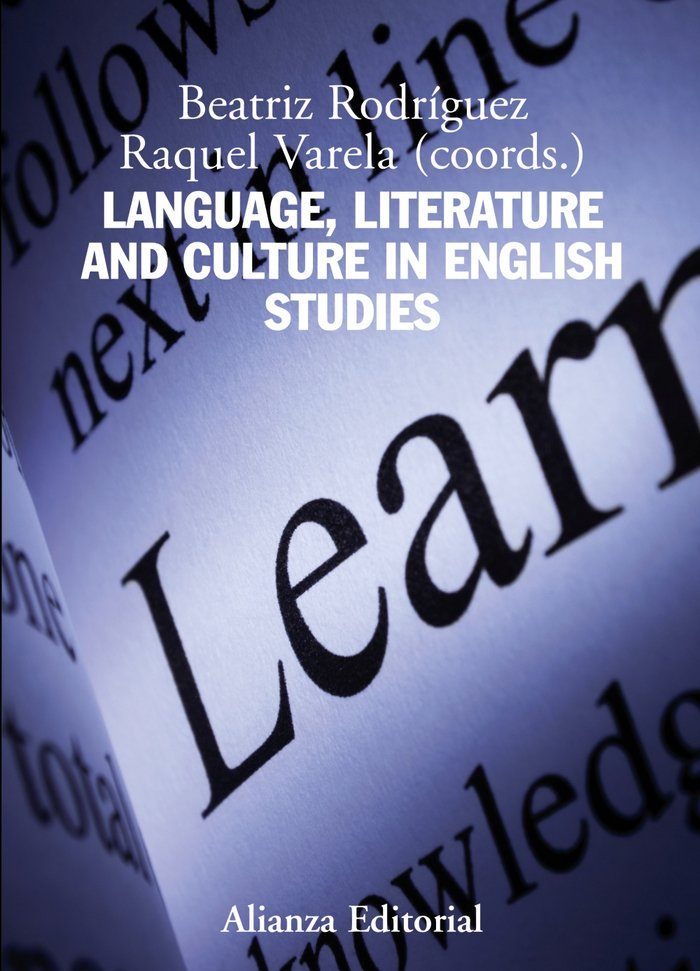 Language, literature and culture in english studies