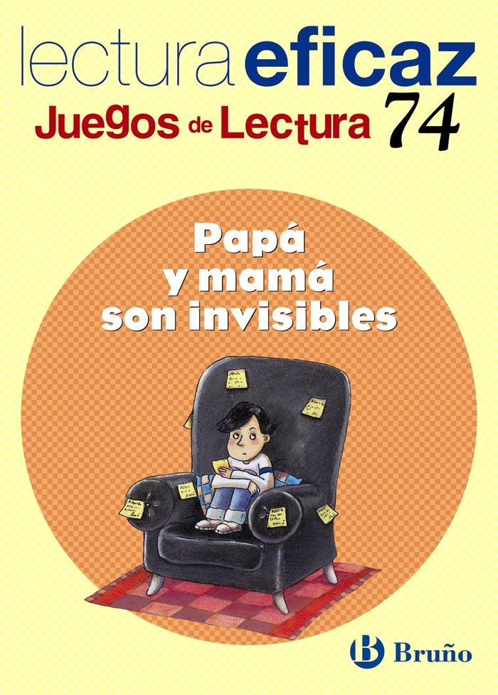 Papa y mama son invisibles juegos lectura