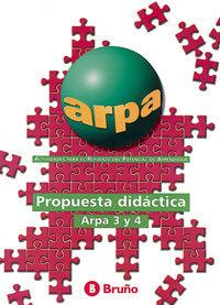 Arpa propuesta didactica 2º ciclo primaria