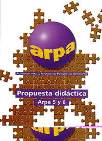 Propuesta didactica arpa 5 y 6