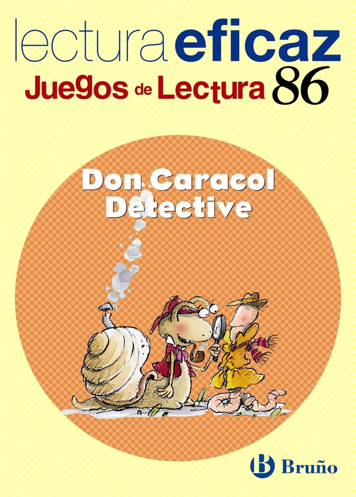 Don caracol detective juegos lectura ne nº86