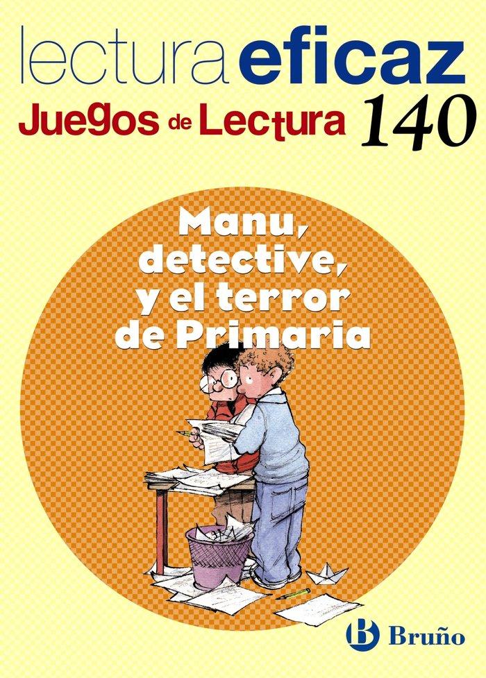 Manu detective y terror de primaria juegos lectura