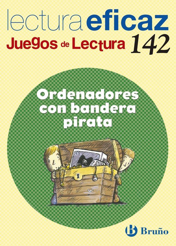 Ordenadores con bandera pirata juegos lectura