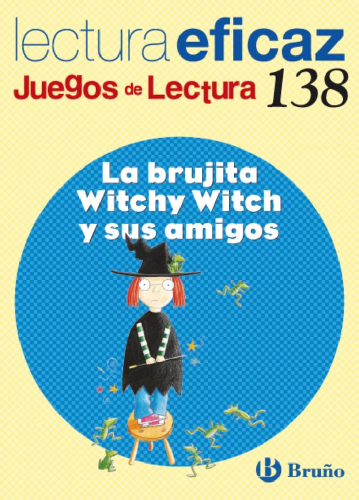 Brujita witchy witch amigos juegos lectura