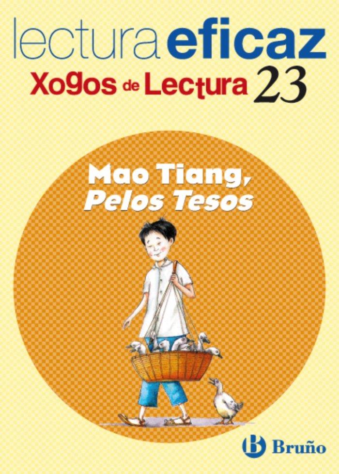 Mao tiang pelos tesos xogo lectura galicia