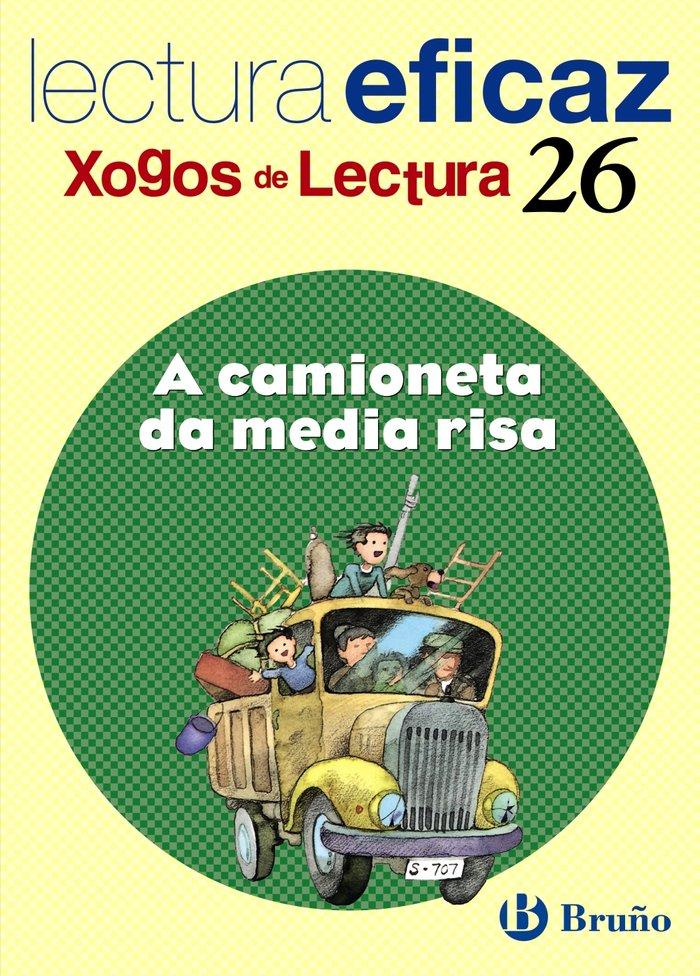 A camioneta da media risa xogo lectura galicia