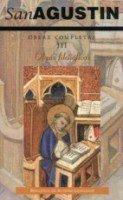 Obras completas de san agustin. iii: obras filosoficas