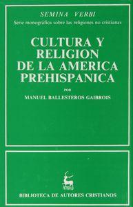 Cultura y religion en la america prehispanica