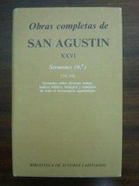 Obras completas de san agustin. xxvi: sermones (6.º): 339-39