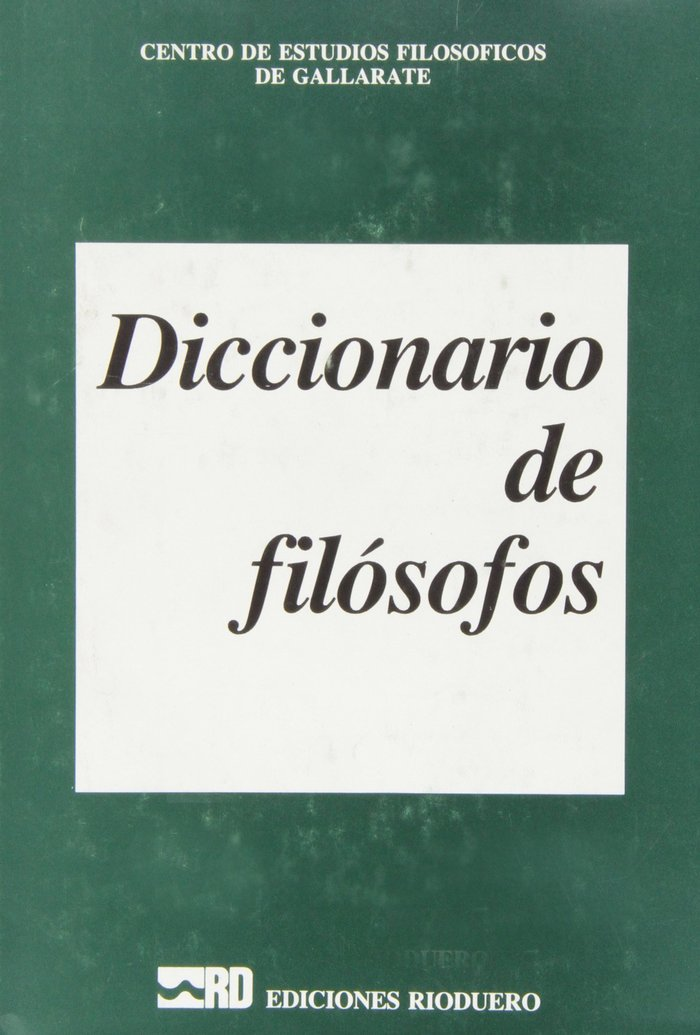 Diccionario de filosofos