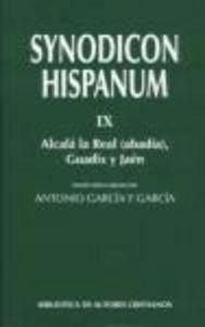 Synodicon hispanum. ix: alcala la real (abadia), guadix y ja