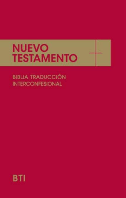 Nuevo testamento : la biblia interconfesional