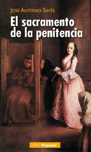 El sacramento de la penitencia.   b.a.c.  popular