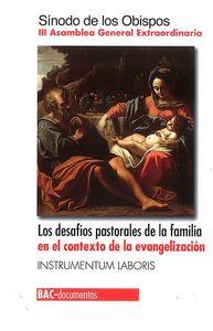 Desafios pastorales de la familia en el contexto de la evang
