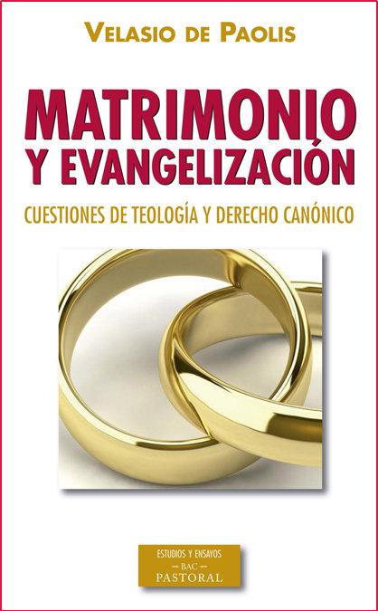Matrimonio y evangelizacion